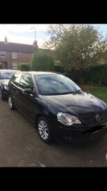 VW BLACK POLO 57 plate