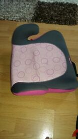 Little Tikes girls booster seat