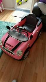 Mini Cooper Electric car