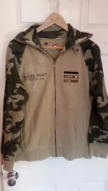 Sweat Jacket RINGSPUN was £80 only 7£!!!!! size M