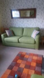 Almost Brand New Sofa & Armchair