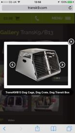 Only 4 months old trans k9 cage for a quick sale.includes key,divider and mat.