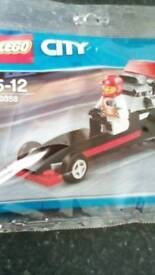 Lego racing car 30358
