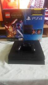PS4 console with box