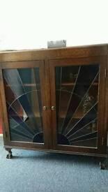 Deco Glass cabinet - slight damage