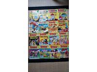 Dandy Cartoon Books Job Lot of 18, Varying Condition