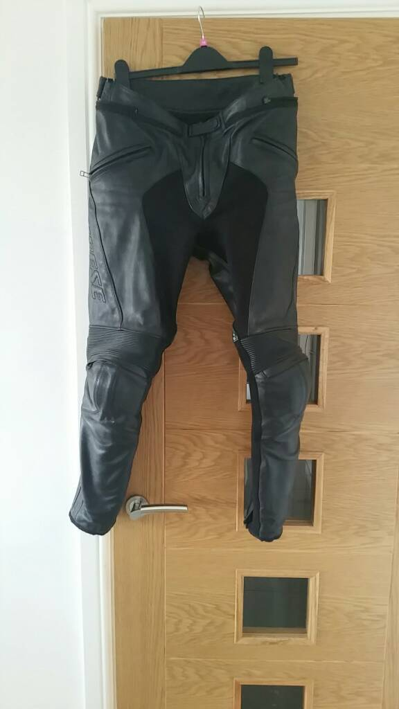 Ladies dainese leather trouser size 14