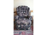 Sherborne Lynton Lift and Rise Recliner Chair - AS NEW
