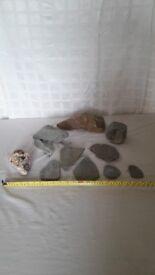 Aquarium Vivarium Collection of Real Rocks / Stones . Lot 2. £15
