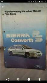 Ford sierra cosworth workshop manual