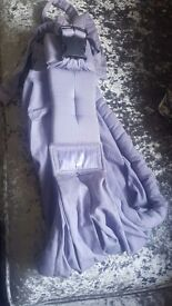 Lilac baby sling