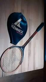 Vintage squash racket