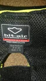 Hit air vest airbag