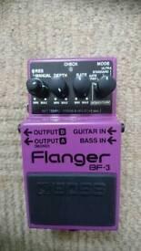 Boss guitar/bass flanger