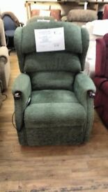 Grande Sized HSL Linton Dual Motor Riser Recliner Chair, Delivery Available