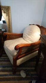 Antique Berger three piece suite