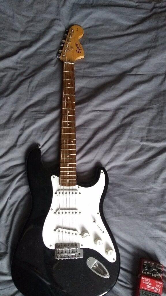 Electric guitar & Amp & Loop pedal