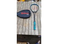 Wilson squash rally high beam racket