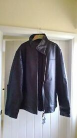Black Leather Jacket for sale