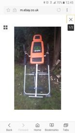 Fully assembled Go Plus Inversion Table