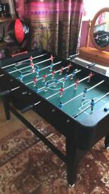 Football Soccer Table Game Ball Kicker Free Standing Kids Toy Foosball Arena