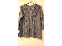 Lovely velvety Indian style tops and dress
