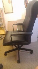 Office Chair ( Ikea : Millberget ). Collect from Guildford Town Centre.