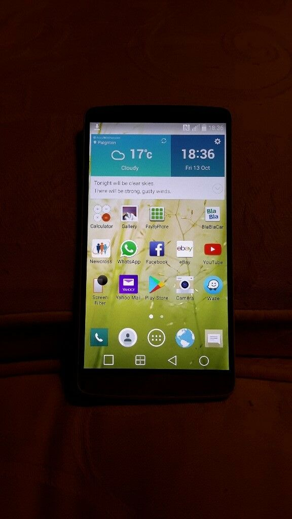 LG G 3 16GB. Phone only.