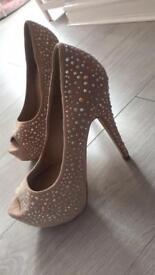 Diamonte Heels
