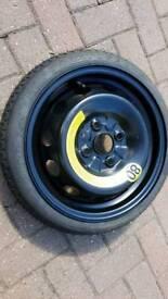 "Hyundai Getz 14"" space saver wheel"