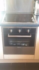 Candy hob and oven