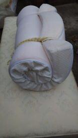 Single Beds _ Base +Foam Mattress
