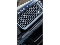 Land rover, range rover sport autobiography front grill and side vents