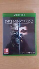 Dishonored 2 + Mafia 3 Xbox One games