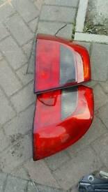 Vectra b rear lights
