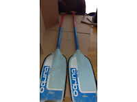 canoe paddle x4 £33
