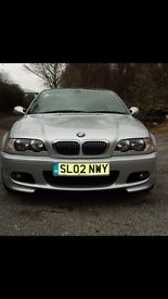 Bmw330Ci sports covertibale,low milage,long not,service history,lots of extras...