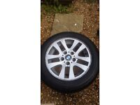 BMW WHEELS AND TYRES X 4 ....................DOCKING/FAKENHAM