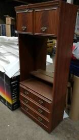 Used dressing table wardrobe -collection only