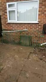 Double front gates