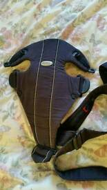 Baby carrier, coccon and mat