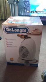 Fan heater.twin speed.reciprocating