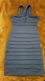 Blue dress Brand New size S