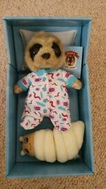 Baby Oleg Collectable Meerkat / Meer Kat toy