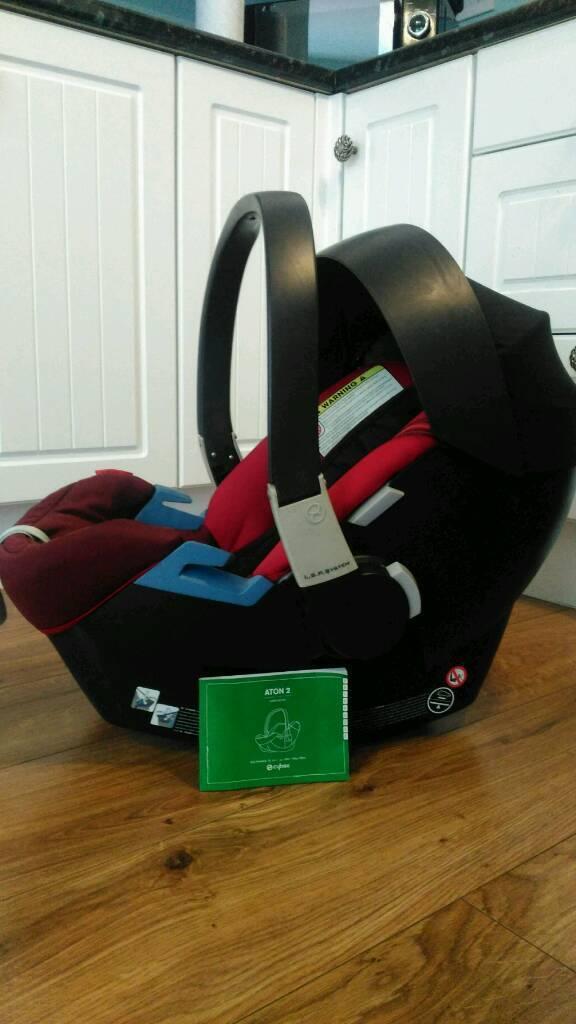 Mamas Papas Cybex Aton2 Car Seat Fits Lots Of Pram Pushchairs