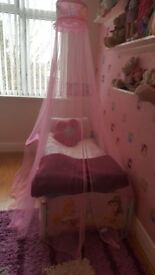 2 Girls Princess Toddler Bed