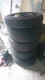 225x50x16R winter tyres Goodyear