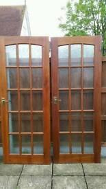 Set of 5 interior doors