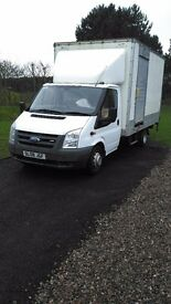 2008 ford transit luton 2.4 tdci in excellent condition