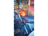 Cagiva planet/raptor 125 project